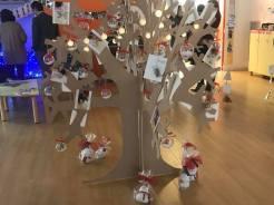 albero delle lampadine